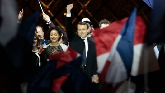 Emmanuel Macron wins the French Presidential Election