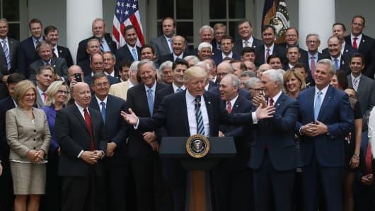Senate GOP discussing health overhaul's Medicaid provisions