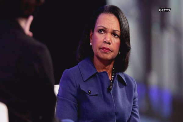 Rice warns of the rise of populism