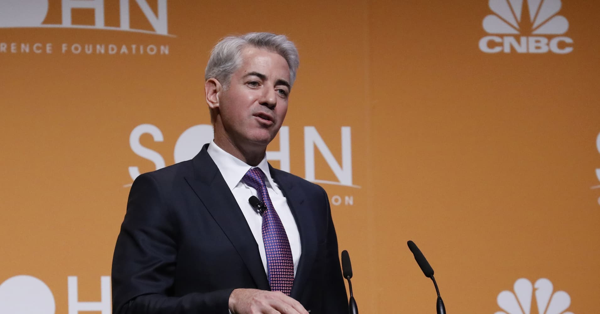 Bill Ackman is bragging about a mystery investment doing really well as hedge fund trails market