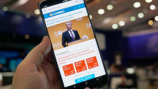 CNBC Tech: Google download offline