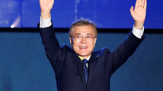 'I Will Be President For All South Koreans': Moon Jae