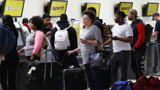 Fists Fly at Fort Lauderdale Airport After Airline Cancels Flights