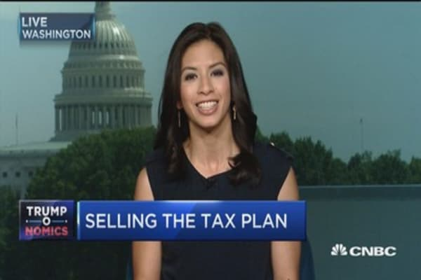 Selling the tax plan