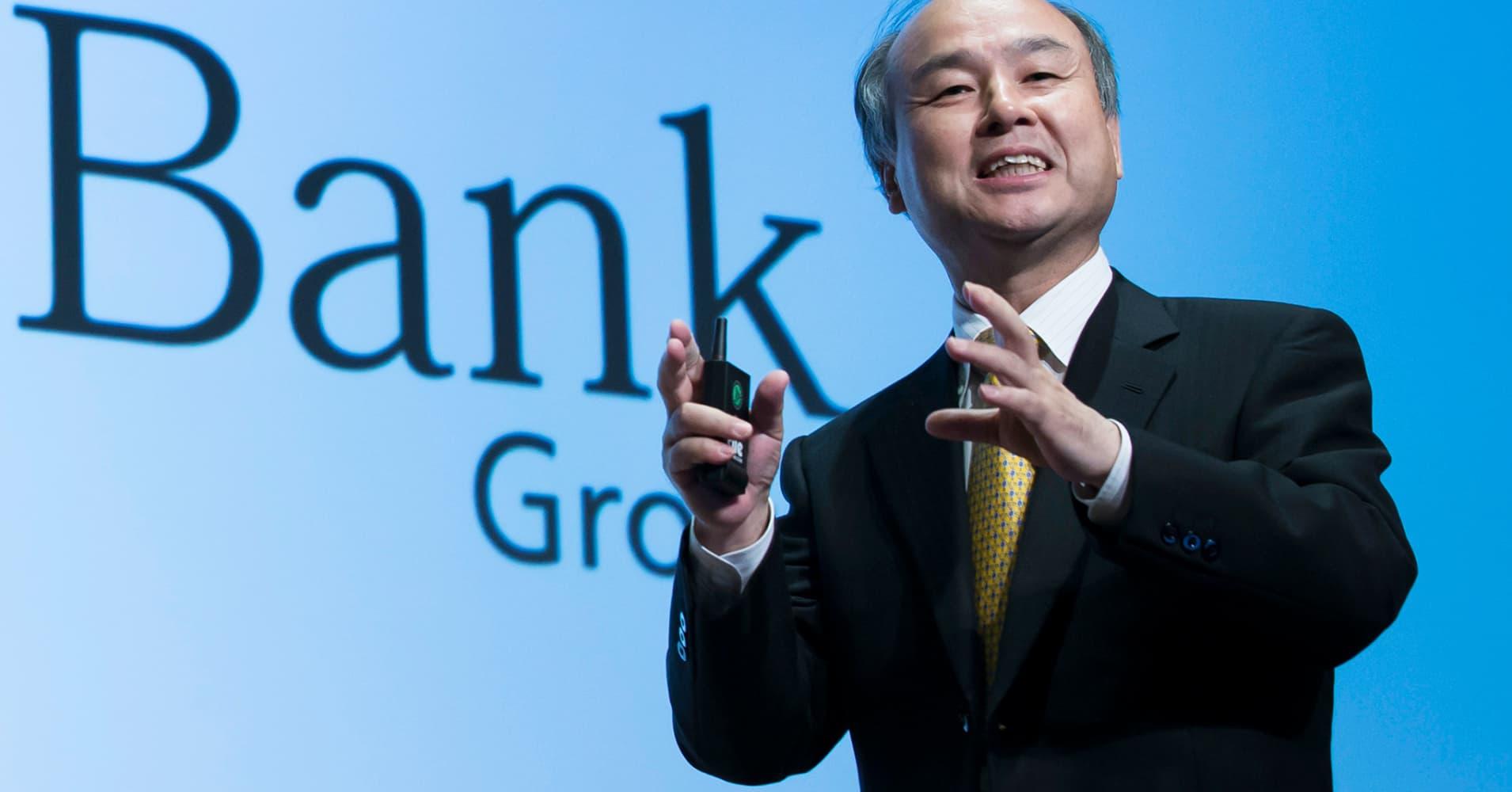 Softbank leads $500 million investment into UK virtual reality start-up