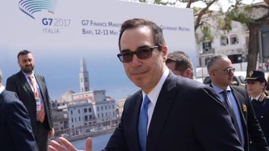 US Treasury chief to brief key allies on Trump policies