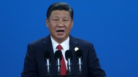 China's Xi appeals to foreign leaders for freer trade