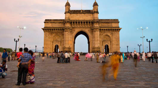 The Gateway of India Monument in Mumbai