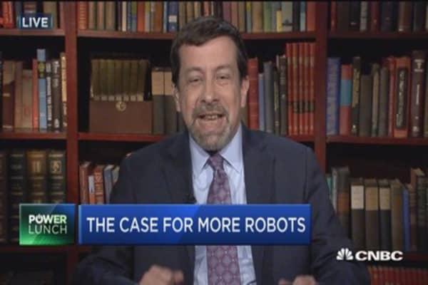 More robots, more jobs?