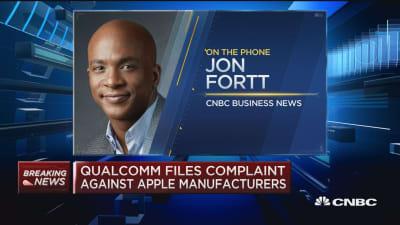 Qualcomm files complaint against Apple manufacturers