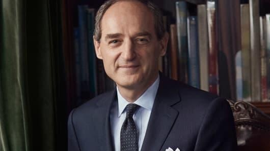 Patrice Louvet, CEO of Ralph Lauren.