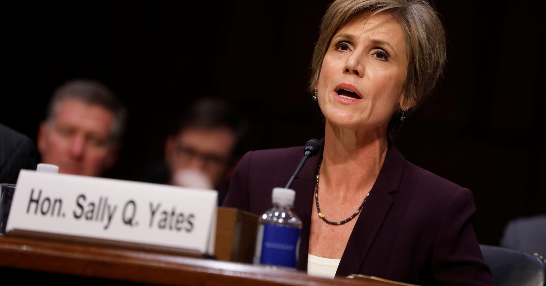 Sally Yates: 'There was nothing casual' about Mike Flynn warning