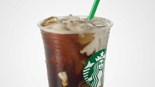 Starbucks Testing Coffee Ice Cubes