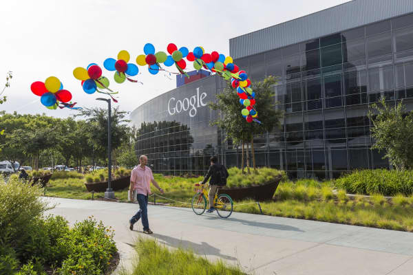The Google X research lab in Mountain View, California.