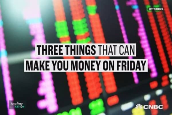Fed speakers and oil's bounce: Three ways you could make money on Friday