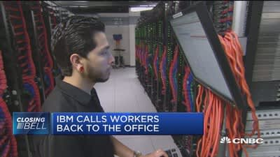 IBM calls workers back to the office
