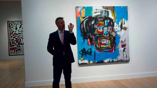 $110.5 Million Basquiat Painting Becomes 6th Most Expensive Work Sold at Auction