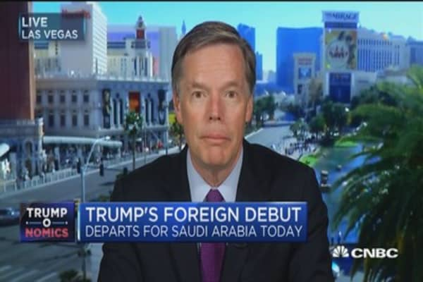 Amb. Burns: As Americans we should hope that the President is successful on this trip