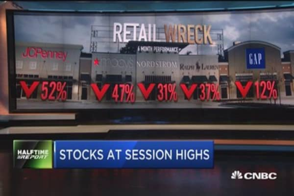 Retail earnings on pace for worst week of the year