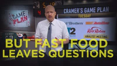 Cramer Remix: What the success of these fast food stocks isn't showing