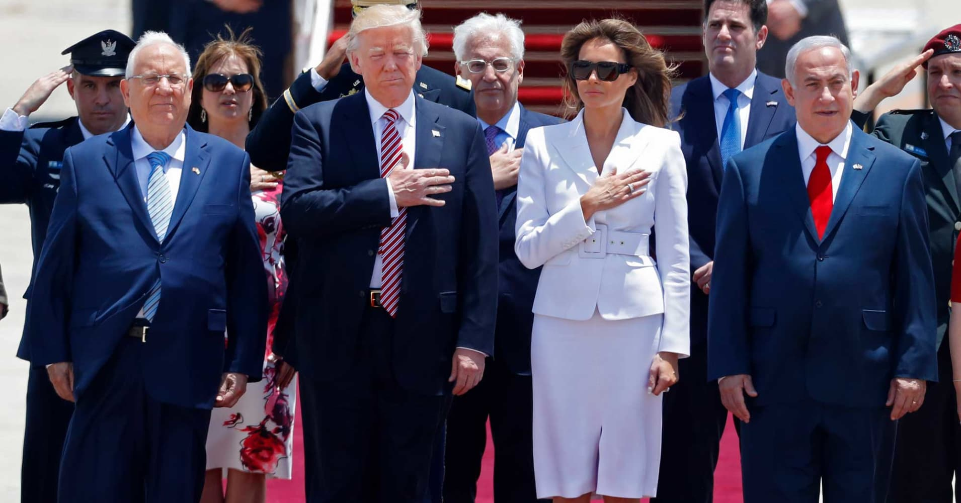 Donald Trump arrives in Israel, will push peace process