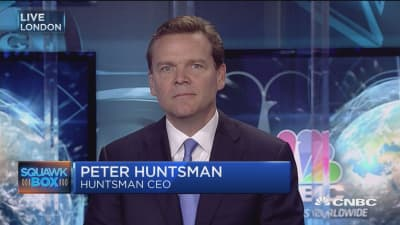 Huntsman CEO: Now is the opportune time for Clariant tie-up