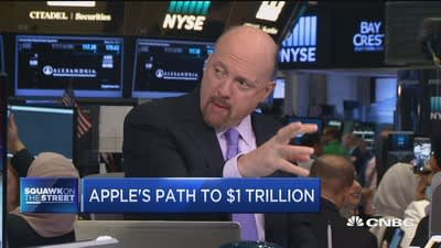 Cramer: iPhone 8 cycle will be a big one