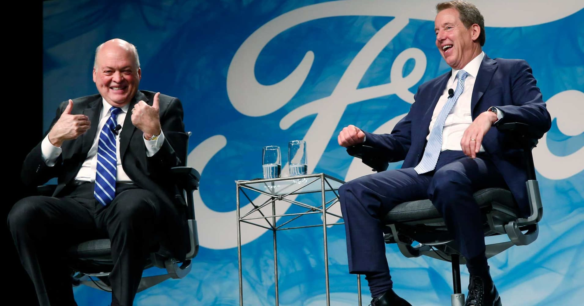 New Ford CEO promises to be a 'cultural change agent,' Bill Ford says