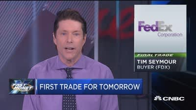 """Fast Money"" final trades: FDX & more"