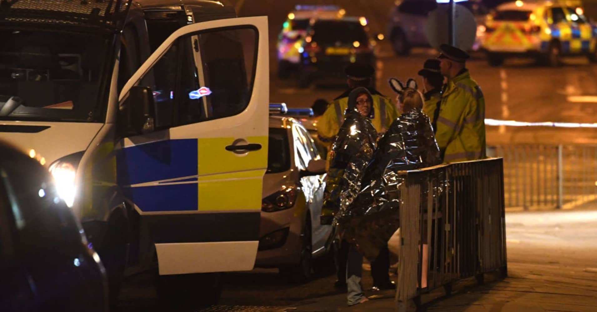 In pictures: Suspected terror attack at Ariana Grande concert in Manchester