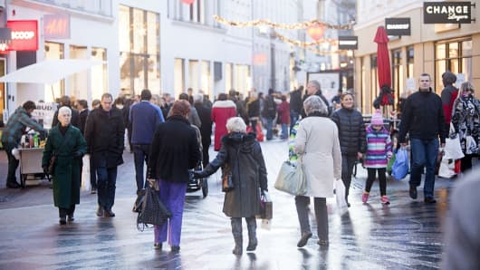 Eurozone jobs growth running at 'near-decade highs'
