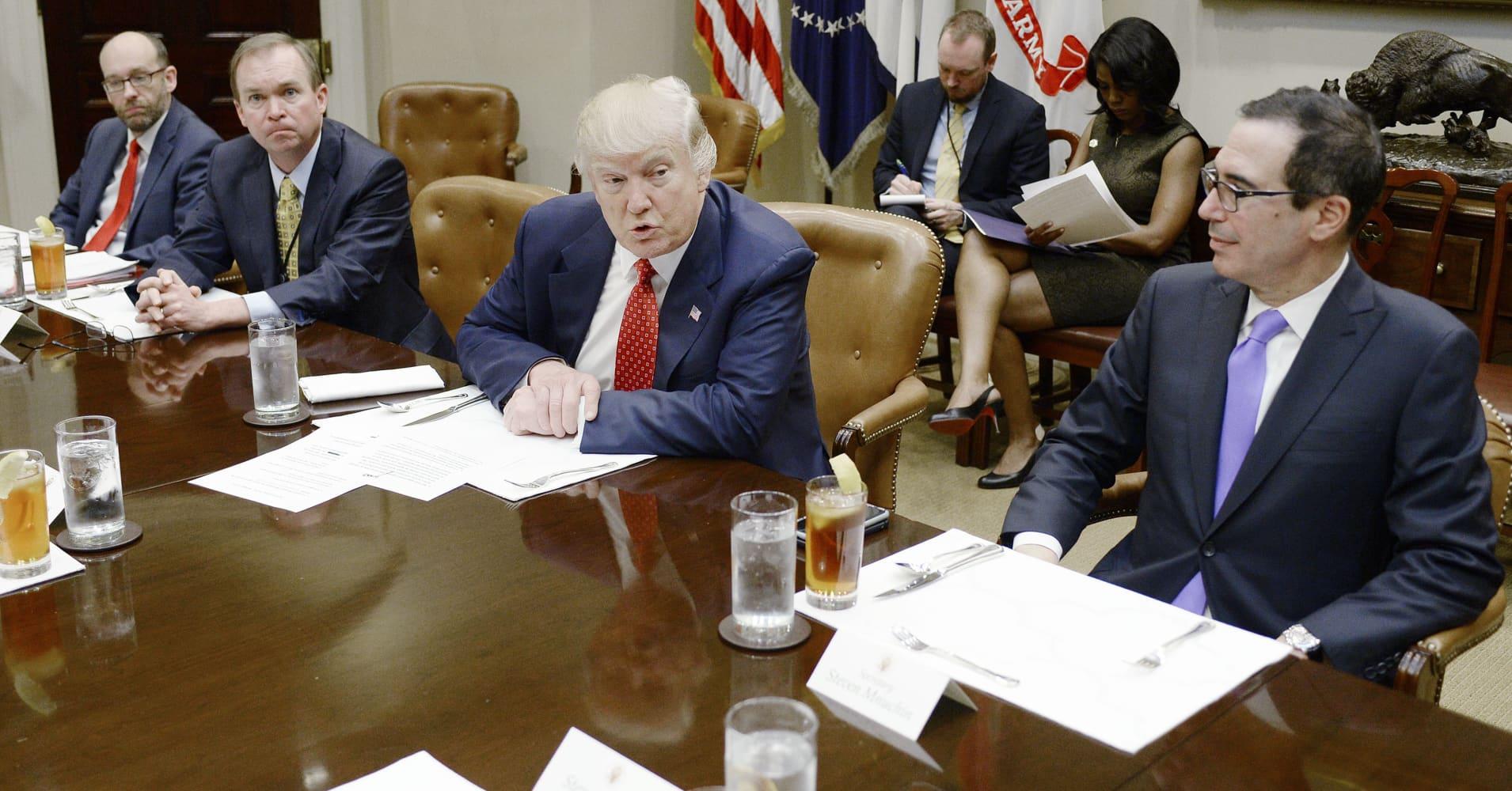 Trump's budget proposal adds a 'new definition to la-la land,' Democrat Max Baucus says