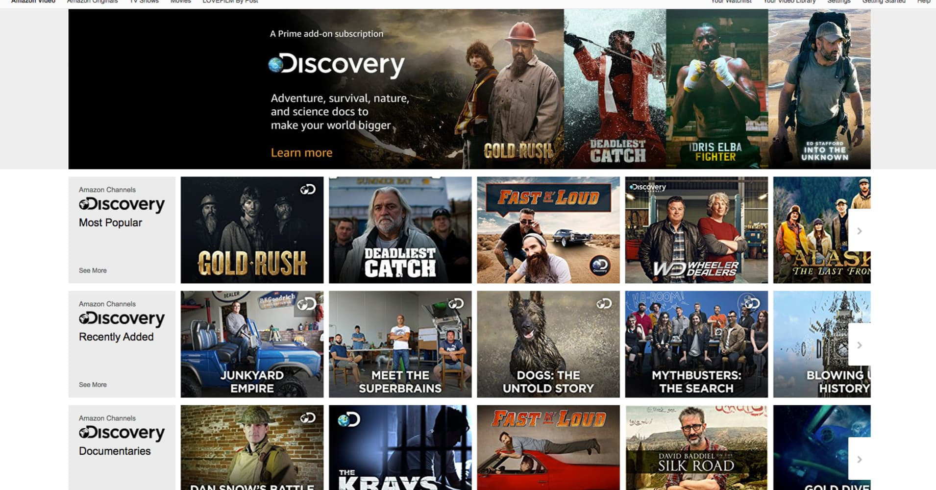 Amazon brings live broadcasting to Europe to compete with Sky, Facebook and Netflix