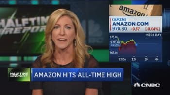 Amazon effect is taking stride, stock hits all time high