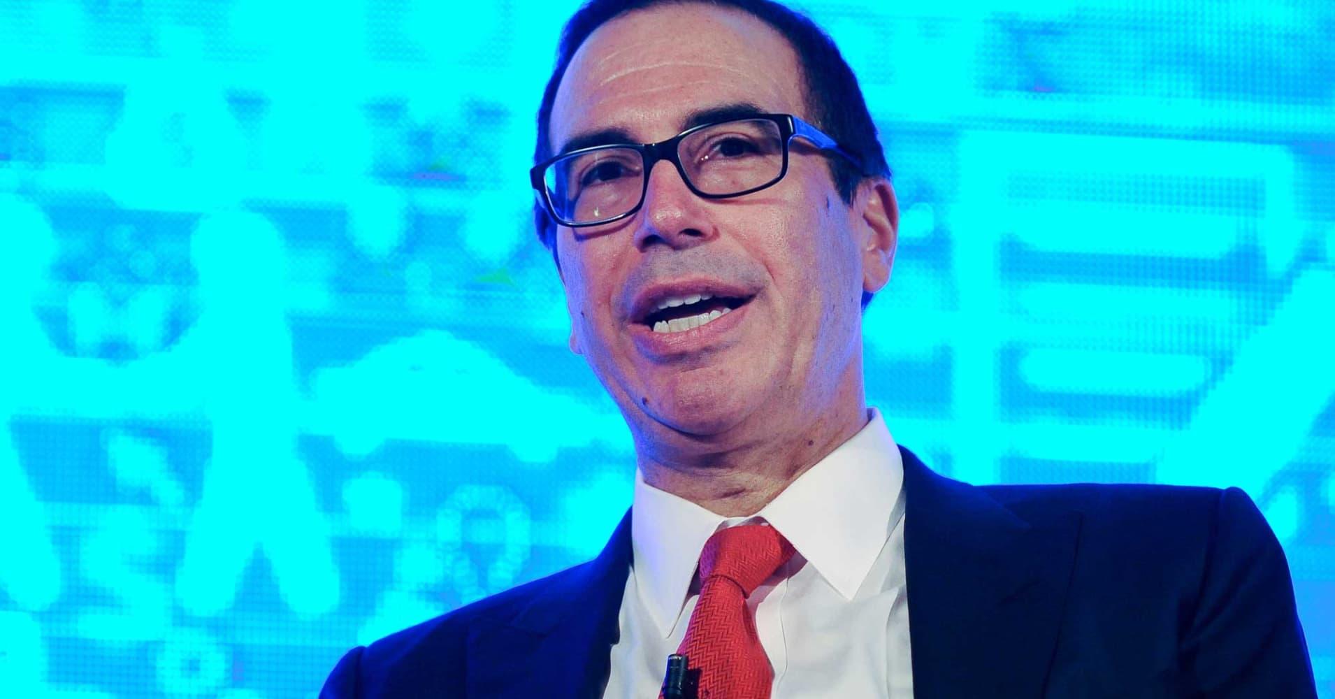 Treasury Secretary Mnuchin backs off pledge of 'no absolute tax cut' for the wealthy