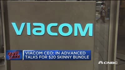 Viacom CEO: In advanced talks for $20 skinny bundle