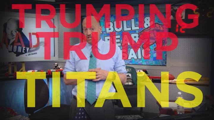 Cramer Remix: Why FANG can trump President Trump