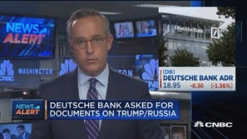 Deutsche Bank asked for documents on Trump and Russia