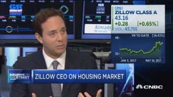 Zillow CEO: Inventory problem starting to get solved