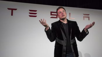 Elon Musk, chairman and chief executive officer of Tesla Motors Inc.