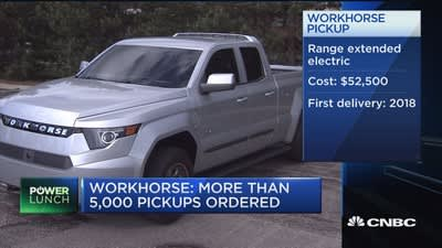 Workhorse wants to take on big-time carmakers with electric pickup truck