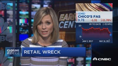 Retail wreck for Tiffany, Lowe's and Chico's