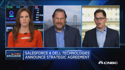 Salesforce and Dell announce strategic agreement