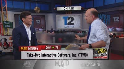 Cramer talks to Take-Two Interactive's CEO