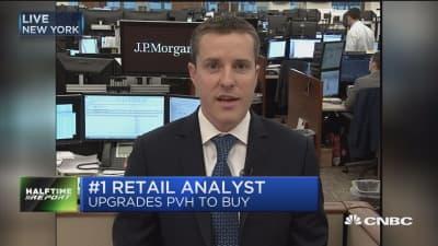 JP Morgan says buy Calvin Klein owner PVH on retailer's international potential