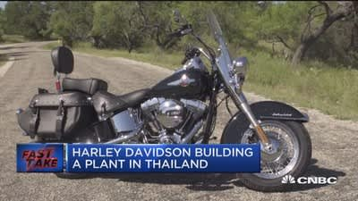 Harley Davidson building a plant in Thailand