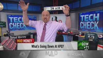 Cramer cheers for HP Inc.'s comeback story