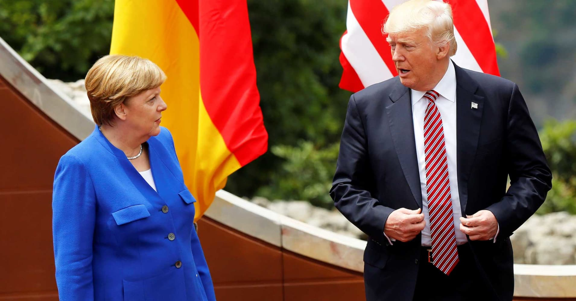 Trump reportedly calls Germans 'very bad,' threatens to end German car sales