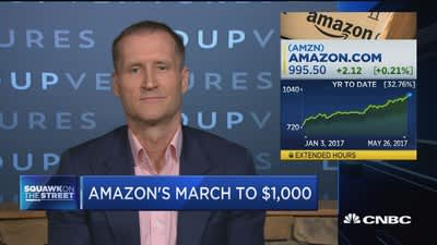Amazon's march to $1000 'a nice trophy' for Jeff Bezos: Expert