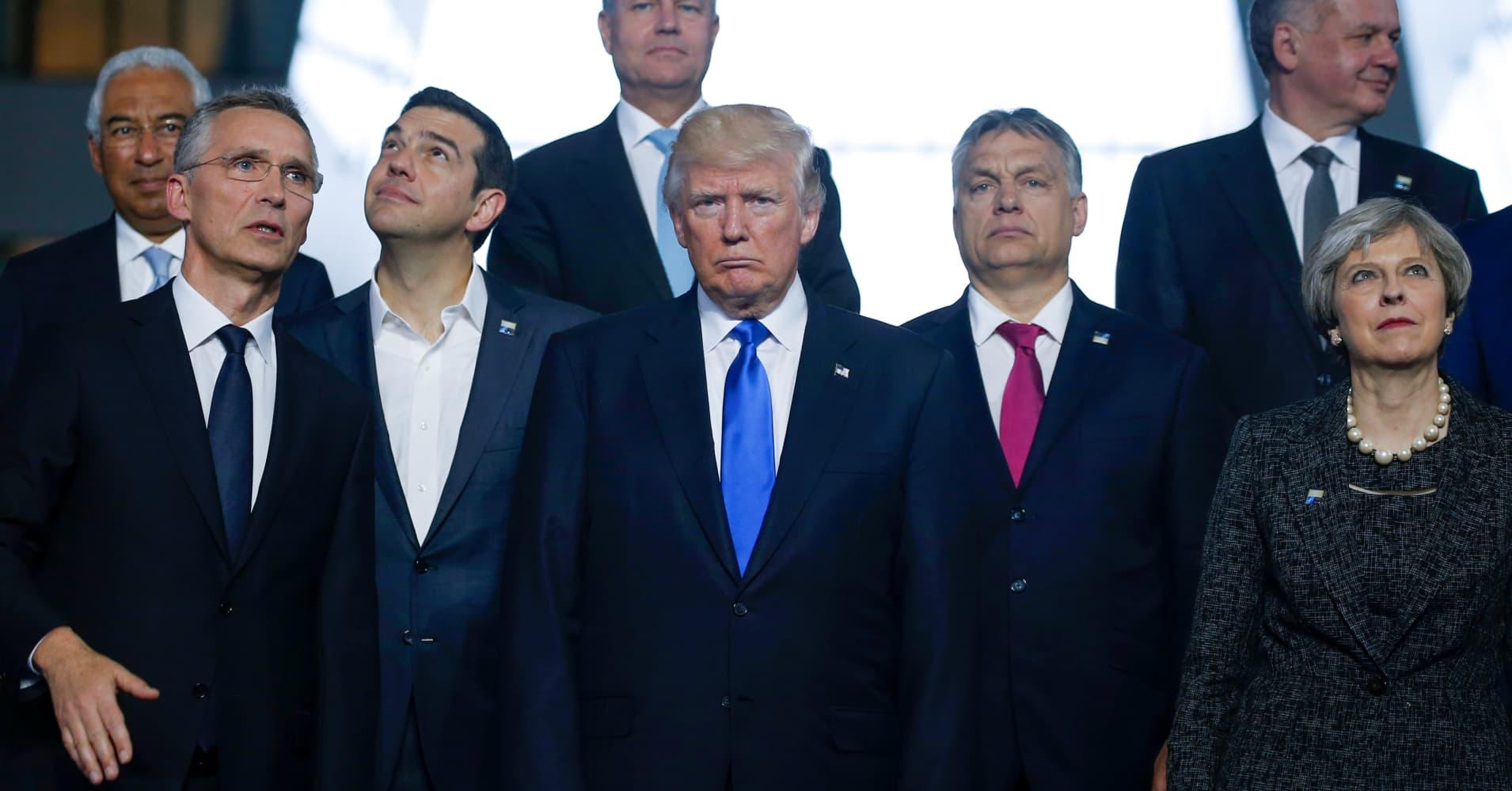 Trump NATO visit gets bad reviews from former ambassadors